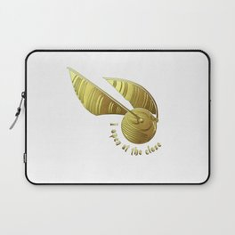 Golden Snitch Laptop Sleeve