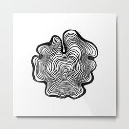 Tree Ring III Metal Print