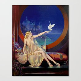 Henry Clive Sultana 1920 Canvas Print