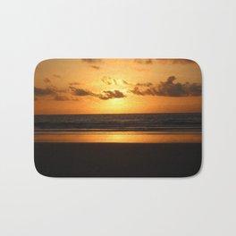 Golden Sunrise Bath Mat