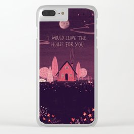 Introvert Love Clear iPhone Case
