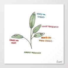 Sage Advice Canvas Print