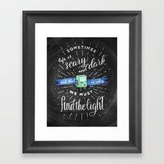 Wisdom of BMO Framed Art Print