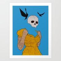 evil dead Art Prints featuring evil dead. by camden noir