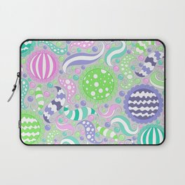 Candy Store Pattern Print Laptop Sleeve