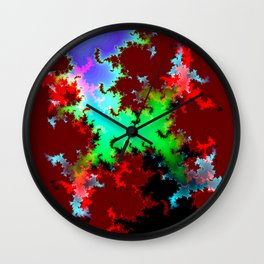 new mountain iii Wall Clock
