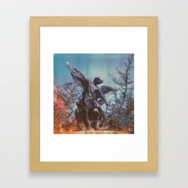 michael the arch angel Framed Art Print