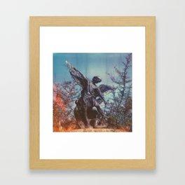 michael the arch angel Framed Art Print