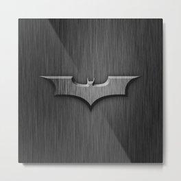 Bat in The Shadow Metal Print