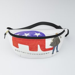 Not My Government #NotMyGovernment Fanny Pack