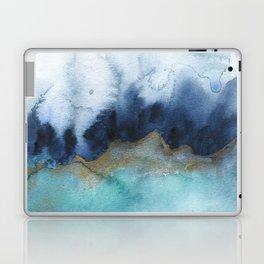 Mystic abstract watercolor Laptop & iPad Skin