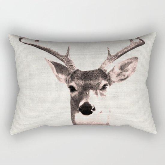 Deer Art 1 Rectangular Pillow