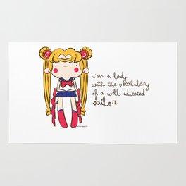 Sailor vocabulary Rug