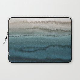 WITHIN THE TIDES - CRASHING WAVES TEAL Laptop Sleeve