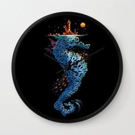 dream in blue Wall Clock