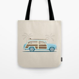 Iconic Surf Car Tote Bag