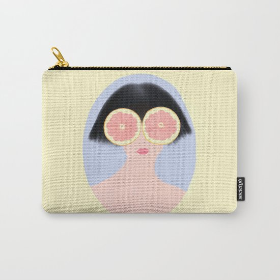 CITRUS & GIRL Carry-All Pouch