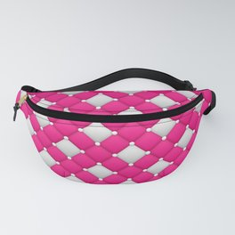 Pink and White Vintage Classic Fanny Pack