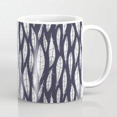 Quail Feathers (Midnight) Mug