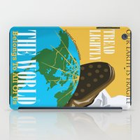 propaganda iPad Cases featuring Conservation Propaganda by Teighlor Made Art & Design