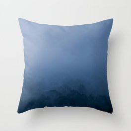 Nature photography. Roncesvalles Fog, Navarra. Spain Throw Pillow