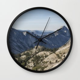 The Other Side of Half Dome Wall Clock