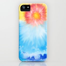 Sun over Valhalla  iPhone Case