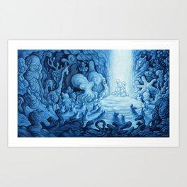 The Velvet Forever Art Print