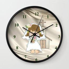 My Little Barefoot Bride Wall Clock