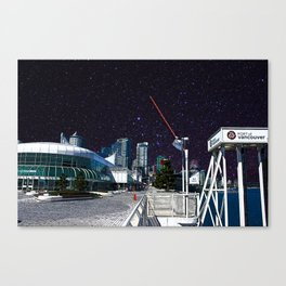 Stars in Canada Place Canvas Print