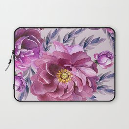 Purple Blossoms Laptop Sleeve