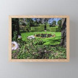 Picture California USA Fountains Filoli Gardens Na Framed Mini Art Print