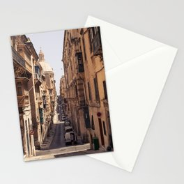 Malta Street View Stationery Cards