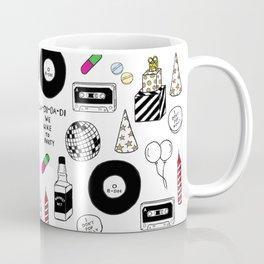"""""""La-Di-Da-Di"""" Illustration Set Coffee Mug"""