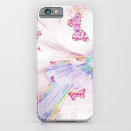 """""""Flash Dream ~ Butterflies"""" iPhone Case"""