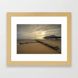 Cleethorpes Pier  Framed Art Print
