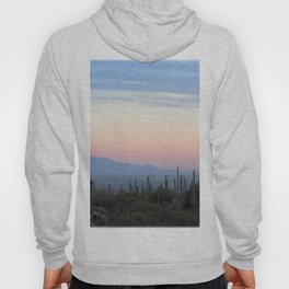 Watercolor Sunset, Ventana Canyon 02, Arizona Hoody