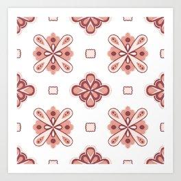 Fancy Tiles Art Print