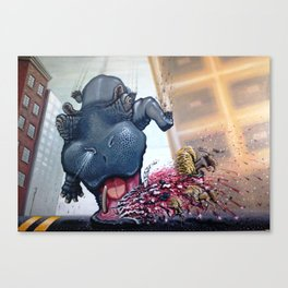 """HIPPOcritical HOPe"" Canvas Print"
