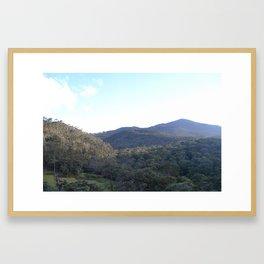 The Summit Point Framed Art Print