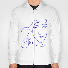 Dove Face by Picasso Hoody