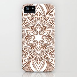 Hexagonal Mandala iPhone Case
