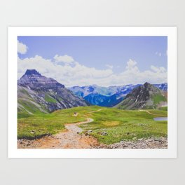 Road to Sneffels Art Print