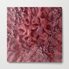 Floral Fantasy 07 red Metal Print