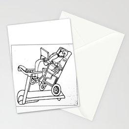 walking hawking Stationery Cards