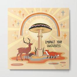 Embrace your uniqueness Metal Print