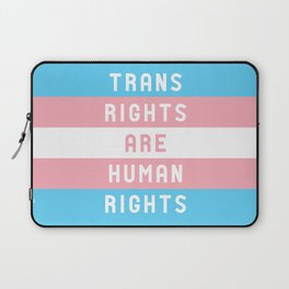 Trans Rights are Human Rights Laptop Sleeve