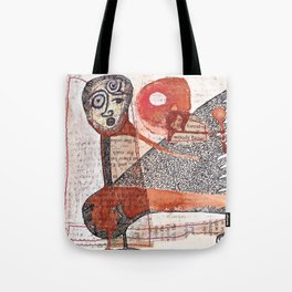Nocturnal Woods Tote Bag