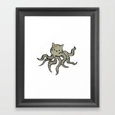 minima - octopuss Framed Art Print
