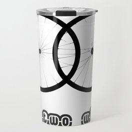 Love two wheels Travel Mug